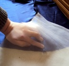 Holding the seam in place