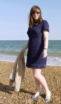 Easy dress for a lazy (read windy) day on the beach