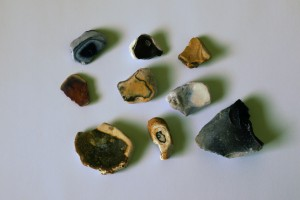 A selection from the beach